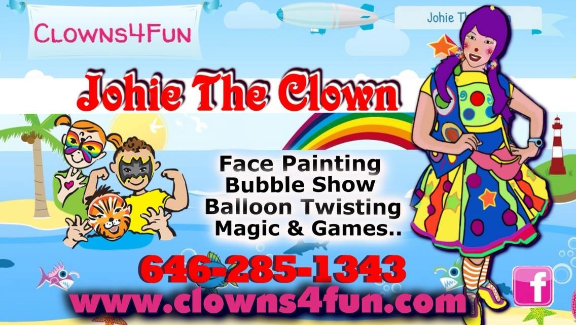 Business Cards - Johie the Clown